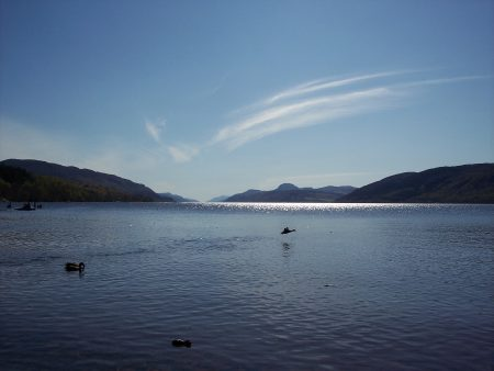Loch Ness from Dores Beach